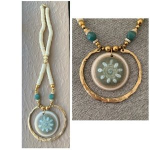 Jewelry - Artisan Statement piece necklace from Nordstrom